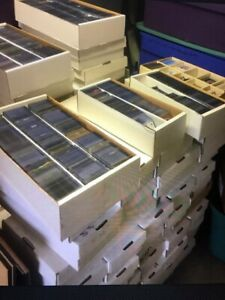 Huge sportscards collection storage unit find Over 2 million cards Free Shipping $39.99