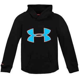 Under Armour Ua Girls Rival Hoodie 1264234-001 Black Hoody Kids Youth Size S