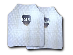Body Armor Bullet Proof Plates ArmorCore Level IIIA 3A 11x14 PAIR $129.99