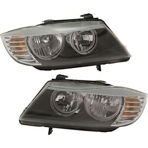 Halogen Headlight Left and Right For BMW 2009 2011 323i 2009 12 328i 328 xDrive $366.89
