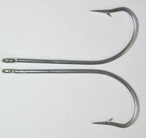 100 pcs 34007 90 Stainless long shank fish hooks lure or bait