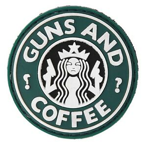 AC-110J: Lancer Tactical Military Morale GUNS AND COFFEE PVC PATCH