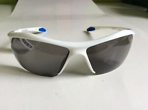 Under Armour Sunglasses Zone XL Shiny White Frame Gray Mulit Lens 8600023-5201