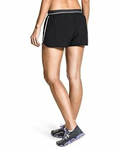 Under Armour Womens Perfect Pace Shorts BlackWhiteReflectiveReflective #4IL