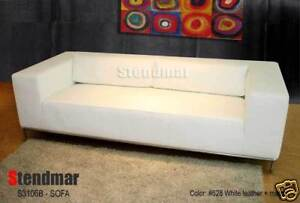 New Modern Euro Design Leather Sofa Custom Color S3106B