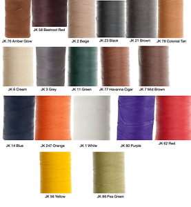 Ritza 25 Tiger Thread 0.8mm Wax Braided Polyester Leather Hand Sewing 25m 82ft $7.99
