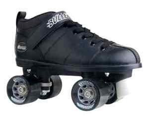 Bullet Speed Skate Skates Roller Lace Closure Black Size Sporting Goods Outdoor