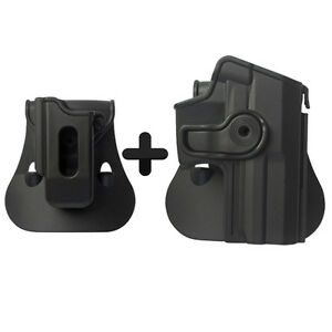 IMI combo roto paddle holster + single mag pouch for h&k asp fs(9mm/.40)