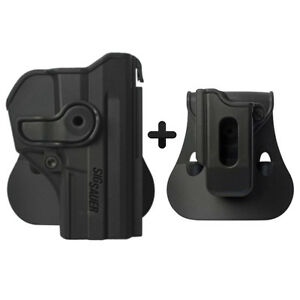 IMI combo roto paddle holster +single mag pouch sig sauer pro sp2022/sp2009