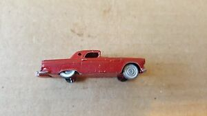 ho scale metal 1956 ford thunderbird