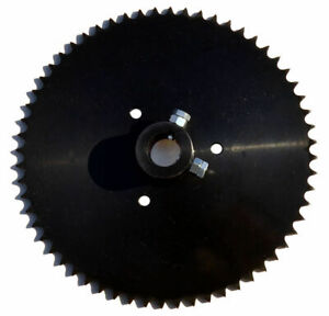 Live Axle Sprocket 60T for 40 41 420 chain 1quot; bore $39.00