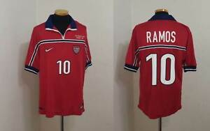 USA FOOTBALL SOCCER JERSEY SHIRT TAB RAMOS METROSTARS REAL BETIS SPAIN CAMISETA