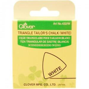 Clover Triangular Tailors Chalk White Blue or Yellow 3 Pack You Choose $12.08
