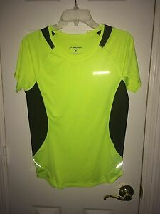 Brooks Women's Equilibrium Short Sleeve Running Shirt Size L - 5 Colors