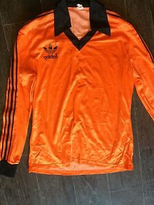 70's Vintage ADIDAS Soccer Long Sleeve Football shirt sport wear