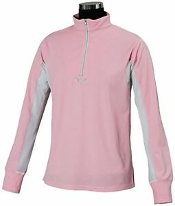 TuffRider Womens Ventilated Technical Long Sleeve Sport Shirt with Mesh #5NI