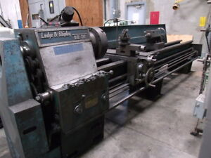 Lodge & Shipley Blue Chip Lathe - SN 26378
