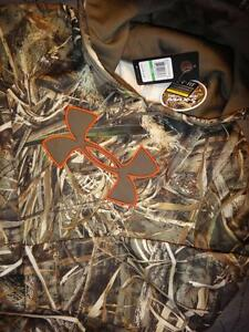 UNDER ARMOUR HUNT REAL TREE MAX 5 CAMO HOODIE SIZE L MEN NWT $74.99