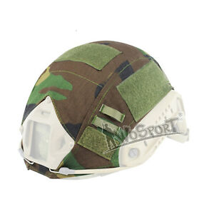 Tactical Airsoft Military Army Camo Fast Helmet Cloth Cover for Ops-Core Helmet
