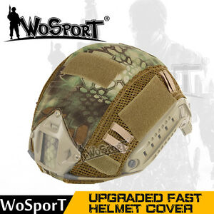 Tactical Military Hunting Airsoft Helmet Cover for Ops-Core Fast Helmet BJPJMH