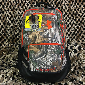 NEW Under Armour Hustle Backpack - Camo Realtree (946)