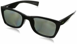 Under Armour Tempest Shiny Black Frame with Black Rubber and Gray Polarized
