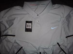 NIKE TIGER WOODS COLLECTION GOLF DRI-FIT POLO SHIRT 2XL MEN NWT $115.00