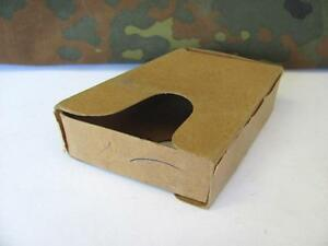 WWII ORIGINAL GERMAN WEHRMACHT M30 8mm AMMUNITION CARDBOARD BOX