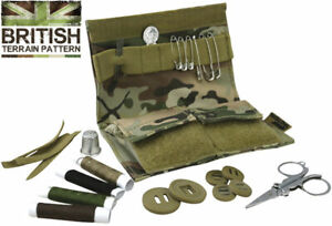 Web tex Military Sewing Kit British MTP MultiCam scout survival outdoor pursuits GBP 10.99