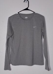 Nike Fit Dry Kids Long Sleeve Shirt. Size L (12-14). Excellent Used Condition!