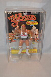 Hulk Hogan Wrestling Superstars Black Card White Shirt COLLECTORS EDITION LJN