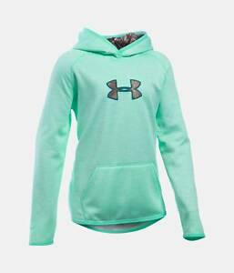 Girl's Under Armour Icon Caliber Hoodie - CrystalRealtree Camo - YSM