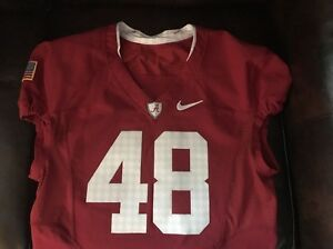 Alabama Roll Tide Pro Combat Nike Game Used Jersey #48 Turn Back The Clock