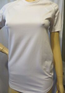 NWOT New Women NIKE Athletic Workout White Dry Fit Tank  Top  Shirt Size S