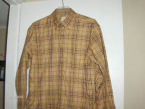 Brooks Brothers Sports Shirt Size M -GREAT FOR THE FALL -