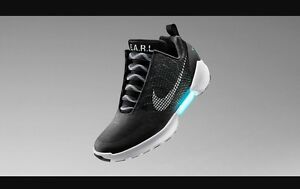 Nike Hyperadapt 1.0 Black 12 Sneakers Shoes new DS McFly Air Mag Space jam