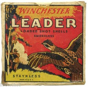SPECIAL ~ Six (6) WINCHESTER Staynless ~ miniature shot shells boxes