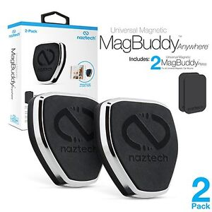 Naztech MagBuddy Anywhere Universal Magnetic Mount, Attractive Floating-look