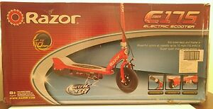 Electric Razor Scooter-Red-E175-Outdoor Sporting Sporting Good