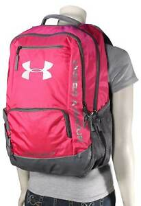 Under Armour Hustle Backpack - Tropic Pink - New
