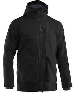Mens Size XL Black Under Armour ColdGear Infrared Ghost Shell Jacket NWT $250