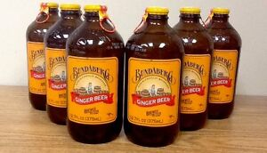 Bundaberg Ginger Beer 12 Pack Old Fashioned Glass Bottle Soda Pop