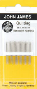 Colonial Needle John James Quilting Betweens Hand Needles Size 12 12 Pkg $6.23