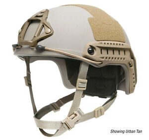 Ops-Core FAST Ballistic High Cut Helmet Tan LXL US Army Special Forces Issue
