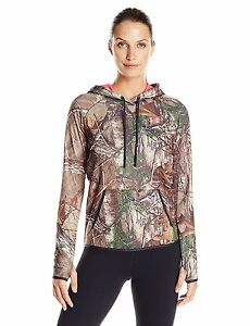 Under Armour Camo Logo Women's Hoodie Rt Xtra Med 1286056-946-MD