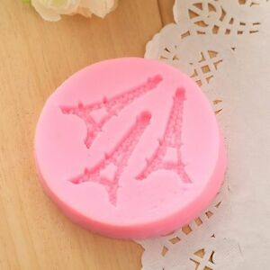 Paris France Eiffel Tower Silicone Mold Custom Molds from Bakell