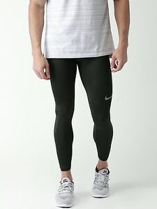 Nike Pro AS M NP HPRCL Men's Max Compression Tights Running Pants Training-BLACK