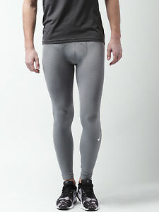 Nike Pro AS M NP HPRCL Men's Max Compression Tights Running Pants Training- GRAY