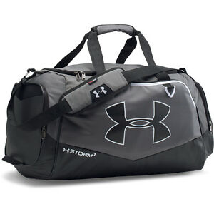 00 Under Armour Storm Undeniable II L Duffel Carryall bag 2705.1oz Graphite