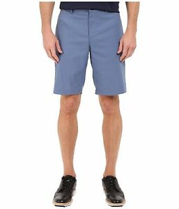 NIKE GOLF TIGER WOODS TW shorts 726226 404 mens FLAT FRONT ocean fog blue